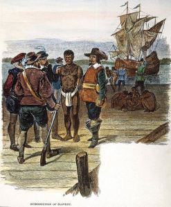 jamestown slave trade