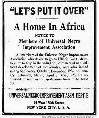 The Honorable Marcus Garvey Rally Poster  Do You Remember The
